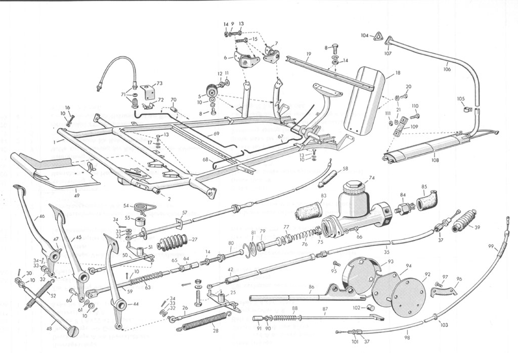 Chassis_1 isettas in south carolina bmw isetta 300 wiring diagram at fashall.co